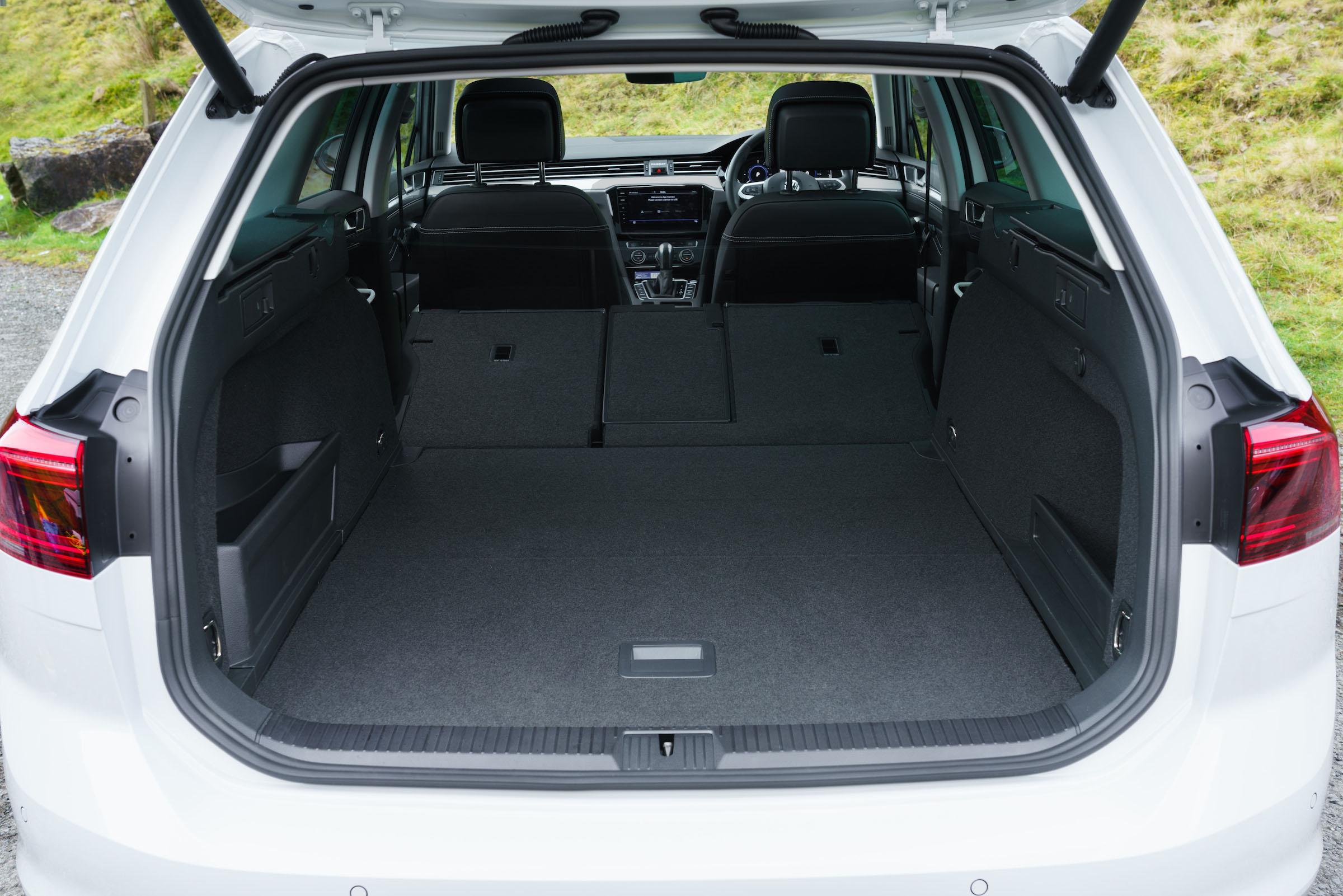 Volkswagen Passat Gte Estate Practicality Boot Space Drivingelectric