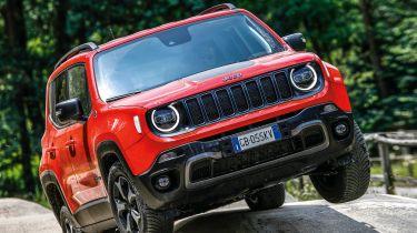Jeep Renegade PHEV – Fahrpräsentation Balocco Juli 2020