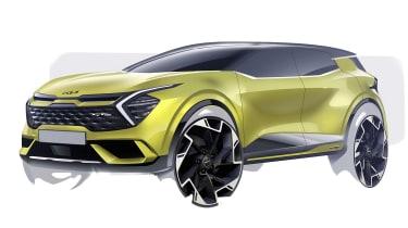 New 2022 Kia Sportage (international specification)