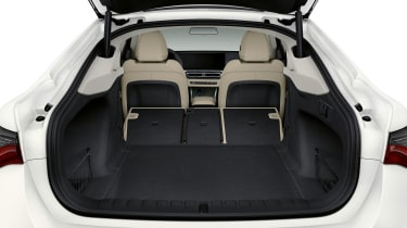 BMW i4 boot space