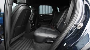 Porsche Cayenne hybrid rear seats
