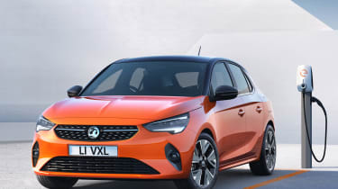 New Vauxhall Corsa-e official 2019 charging