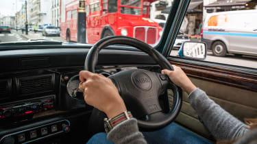 London Electric Cars' MINI conversion - interior