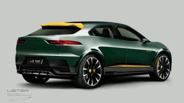 Lister E-SUV Jaguar I-Pace concept