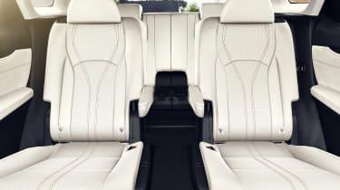 Lexus RX L captain's chairs