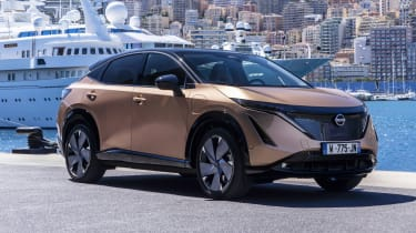 Nissan Ariya in Monaco