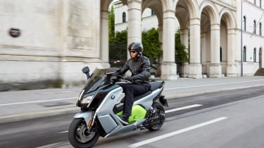 BMW C-Evolution electric scooter