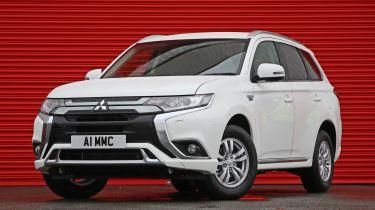 Mitsubishi Outlander PHEV Commercial front