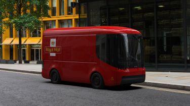 Arrival Royal Mail concept