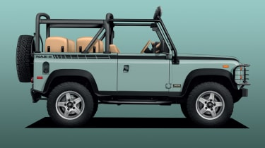 Twisted Land Rover Defender NAS-E pictures