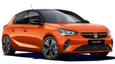 new Vauxhall Corsa-e Griffin