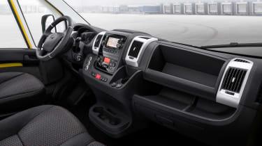 Vauxhall Movano-e interior