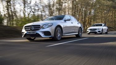 Mercedes E-Class hybrid twin test