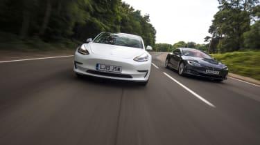 Tesla Model 3 versus Model S