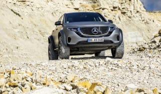 Mercedes EQC 4x4 Squared