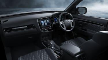 Outlander PHEV interior dashboard
