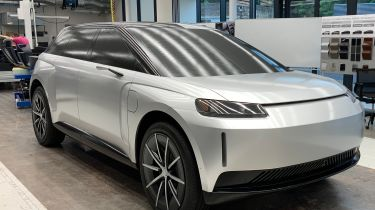 Dyson N526 electric car