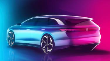 Volkswagen ID. Space Vizzion rear