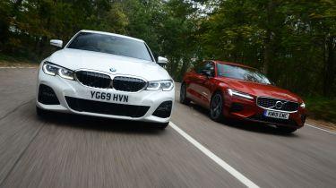 BMW 330e vs Volvo S60