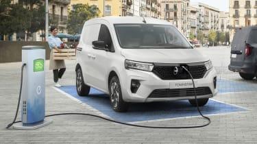 Nissan Townstar electric van