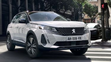 Peugeot 3008 facelift 2020 pictures