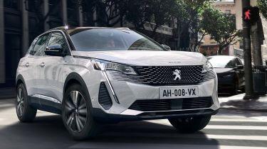 Peugeot 3008 facelift 2020 pictures