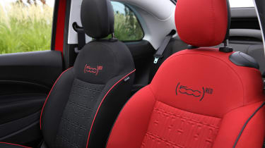 New Fiat 500(RED)