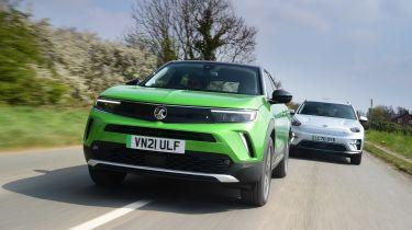 Vauxhall Mokka-e vs Kia e-Niro