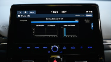 New Hyundai BlueLink app and infotainment system pictures