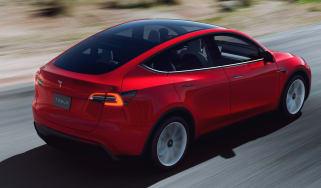 Tesla Model Y UK images