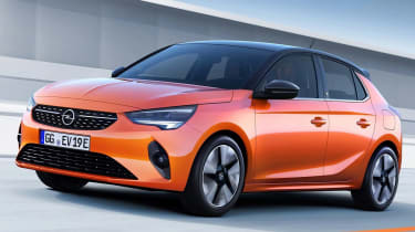Vauxhall Corsa leaked pic front tracking