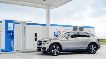 Mercedes fuel cell