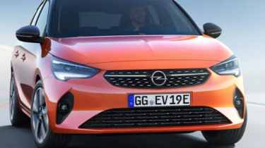Vauxhall Corsa leaked pic front grille