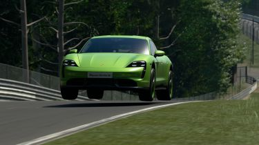 Porsche Taycan lockdown leaderboard