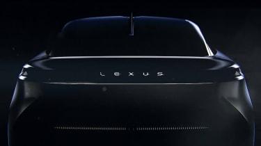 Lexus electric car