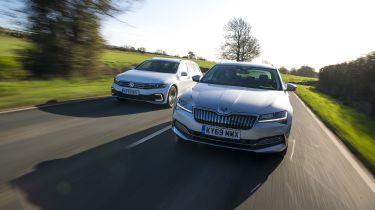 Skoda Superb vs VW Passat