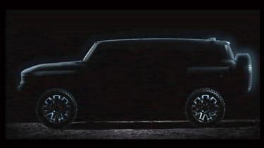Hummer SUV teaser