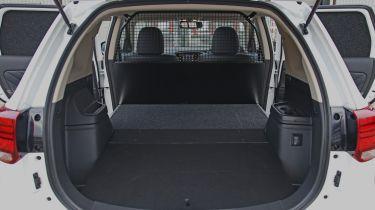 Mitsubishi Outlander PHEV Commercial load bay