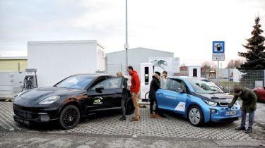BMW Porsche charging