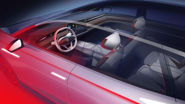 Volkswagen ID. Space Vizzion interior