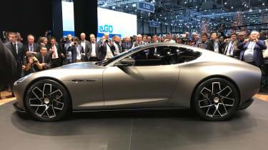 Piech Mark Zero electric sports car concept show pictures