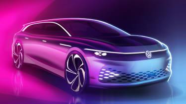 Volkswagen ID. Space Vizzion front