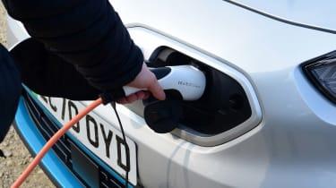Kia e-Niro charging port