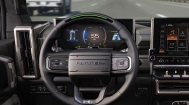 Electric GMC Hummer SUV - Interior