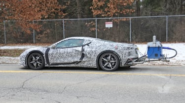 Chevrolet Corvette hybrid testing pictures
