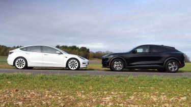 Mach-E vs Model 3