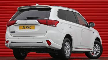 Mitsubishi Outlander PHEV Commercial rear