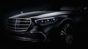 Mercedes S-Class teaser