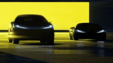 Forthcoming Lotus EVs
