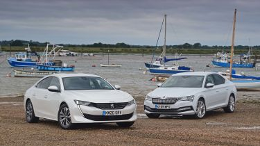 Skoda Superb vs Peugeot 508